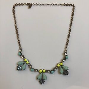 🌟 Statement Necklace with Bright Accents